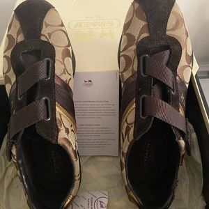 Coach Suede Sneakers